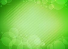 Bolha verde do fundo Foto de Stock Royalty Free