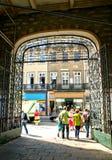 Bolhao market in Oporto royalty free stock photography