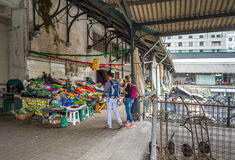 Bolhao miejski rynek w Porto, Portugalia Obraz Royalty Free