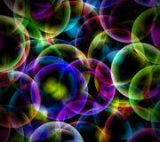 Bolhas abstratas Fotografia de Stock