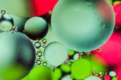 Bolhas abstratas que flutuam e coloridas Fotos de Stock