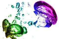 Bolhas coloridas Fotos de Stock Royalty Free