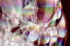 Bolhas coloridas Fotografia de Stock Royalty Free