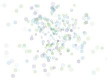 Bolhas coloridas abstratas Fotografia de Stock