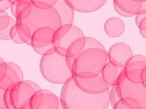 Bolhas coloridas framboesa Imagem de Stock
