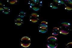 Bolhas com lotes das cores. Fotografia de Stock