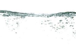 Bolhas da água Fotografia de Stock Royalty Free