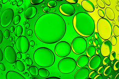 Bolhas da água imagens de stock