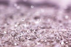 Bolhas da água Fotos de Stock