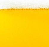 Bolhas da cerveja Foto de Stock Royalty Free