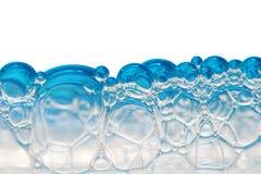Bolhas da espuma Imagens de Stock