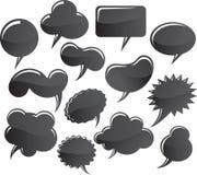 Bolhas da mensagem Ilustração Stock