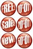 Bolhas da oferta especial ilustração royalty free