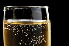 Bolhas de Champagne Foto de Stock Royalty Free