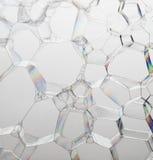 Bolhas de sabão Imagens de Stock