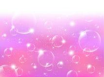 bolhas de sabão Fotos de Stock Royalty Free