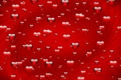 Bolhas do amor ilustração do vetor