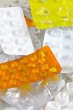 Bolhas do comprimido Fotos de Stock Royalty Free