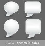 Bolhas do discurso Imagem de Stock Royalty Free