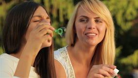 Bolhas engraçadas video estoque