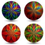 Bolhas geométricas de Tridimensional Imagens de Stock Royalty Free