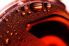 Bolhas no vidro Fotografia de Stock Royalty Free