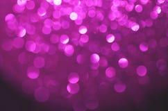 Bolhas roxas Fotos de Stock Royalty Free
