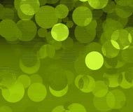 Bolhas verdes ilustração royalty free