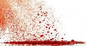 bolhas vermelhas da tempestade Fotos de Stock Royalty Free