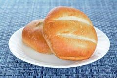 Bolillo Mexican bread stock photos