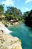 Bolinao nedgångar Royaltyfri Foto