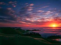 Bolinas Ridge, Calfiornia images libres de droits
