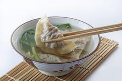 Bolinha de massa da sopa Foto de Stock Royalty Free