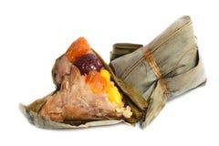 Bolinha de massa, zongzi ou bakcang do arroz. Fotografia de Stock