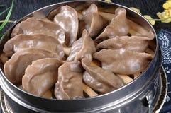 Bolinhas de massa asiáticas do alimento Foto de Stock Royalty Free