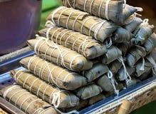 Bolinhas de massa do arroz Fotografia de Stock