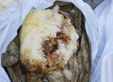 Bolinhas de massa glutinosas do arroz de Hong Kong Dim Sum 'Lo Mai Gai '- fotos de stock