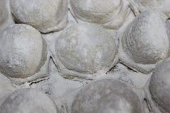 Bolinhas de massa, ravioli Imagem de Stock Royalty Free