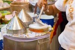 Bolinhas de massa tailandesas Fotos de Stock Royalty Free