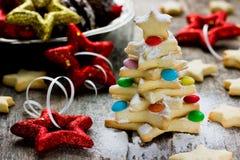Bolinho da árvore de Natal foto de stock royalty free