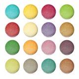 Bolinho de amêndoa colorido Imagem de Stock Royalty Free