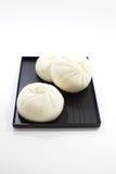 Bolinho de massa cozinhado Dim Sum Imagem de Stock
