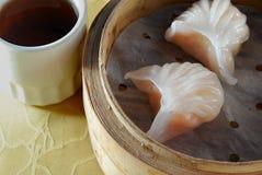 Bolinho de massa do camarão Fotos de Stock