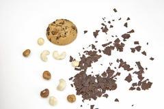 Bolinho de microplaqueta de chocolate Imagem de Stock Royalty Free
