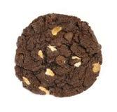 Bolinho de microplaquetas de chocolate Fotografia de Stock Royalty Free