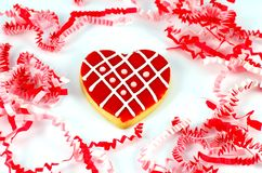 Bolinho do dia do Valentim Imagens de Stock