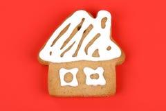 Bolinho do pão-de-espécie do Natal foto de stock royalty free