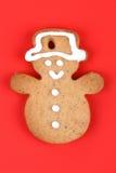 Bolinho do pão-de-espécie do Natal imagens de stock