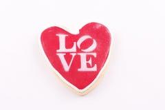 Bolinho Heart-shaped foto de stock royalty free