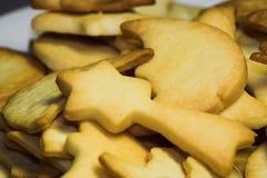 Bolinhos alemães tradicionais do Natal imagens de stock